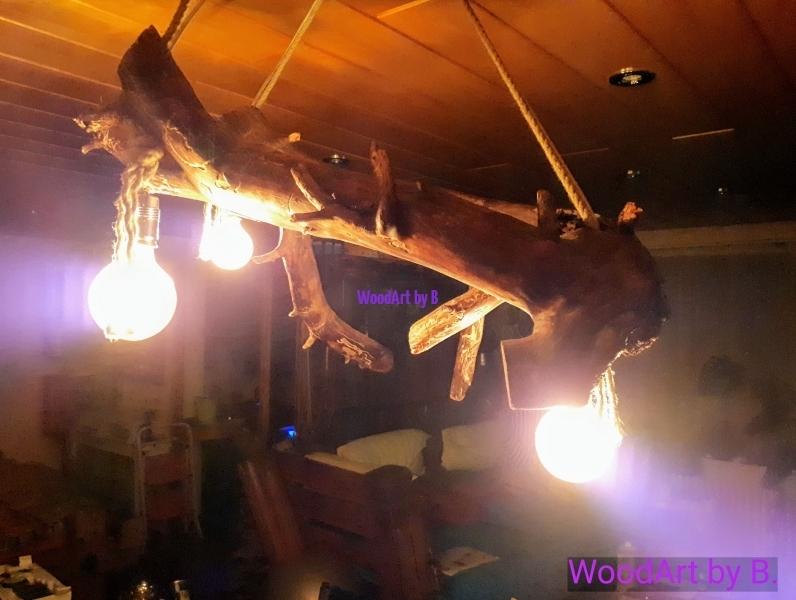 Decken- Leuchten by WoodArt Deckenleuchte