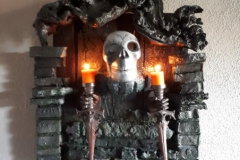 WoodArt by B.Wanddeko-Kerzenhalter aus der Gruft