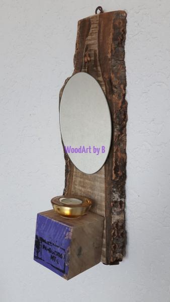Spiegel mit Teelicht Version 2