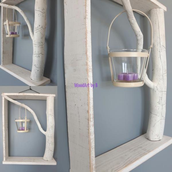 Ast mit Rahmen Dekoration und Accessoire