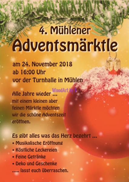 4. Mühlener Adventsmärktle