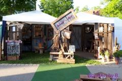 Messestand Gartenmesse Nagold 2018