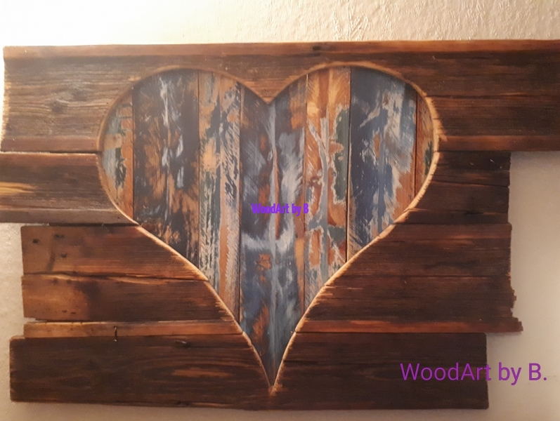 WoodArt by B._Deko-Herz hinter Altholz_142553