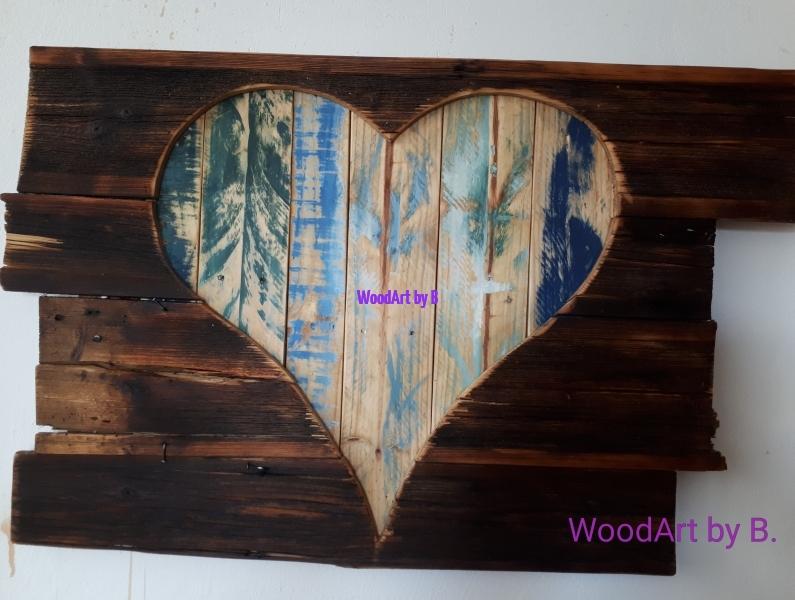 WoodArt by B._Deko-Herz hinter Altholz__Vers.01