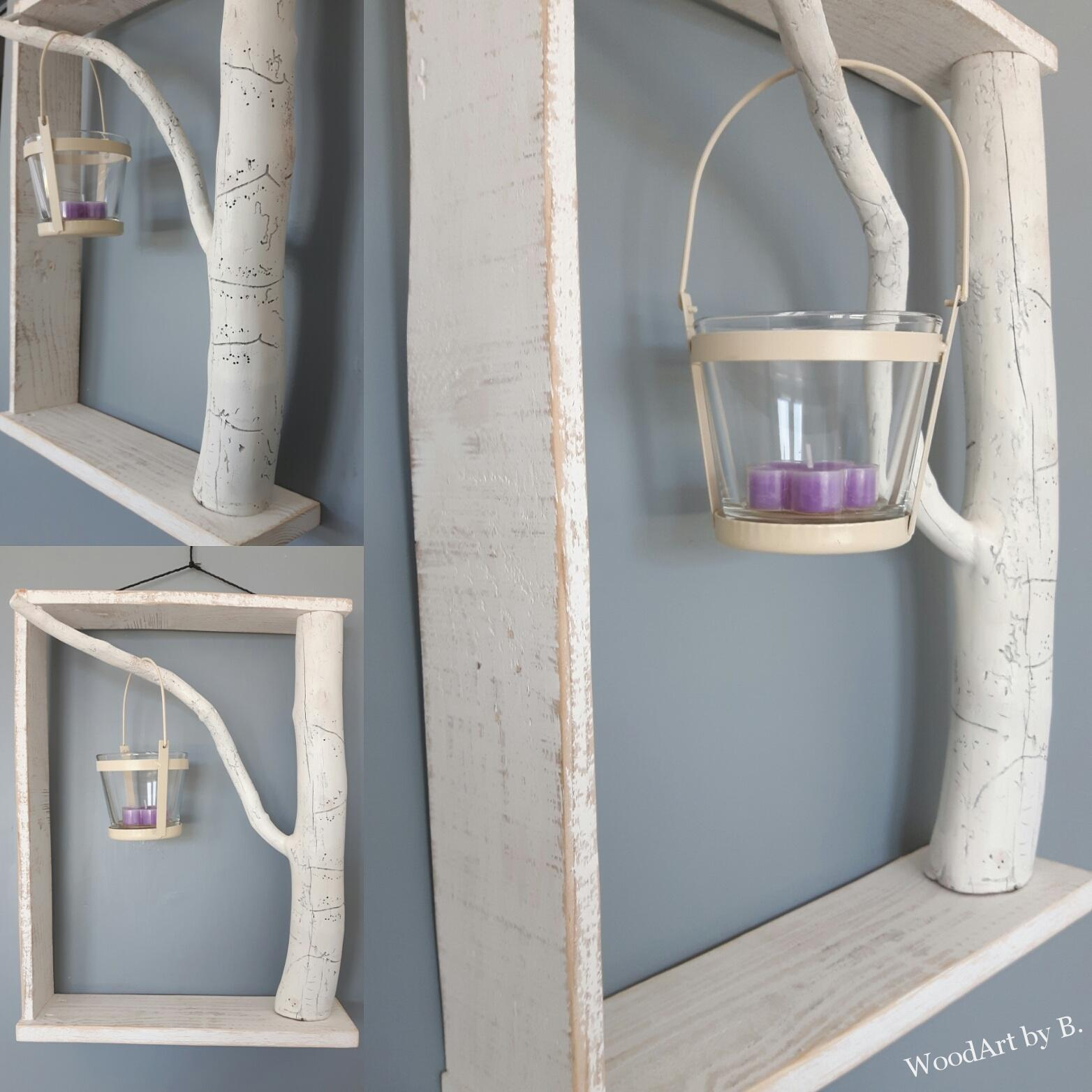 Rahmen mit Ast Dekoration und Accessoire