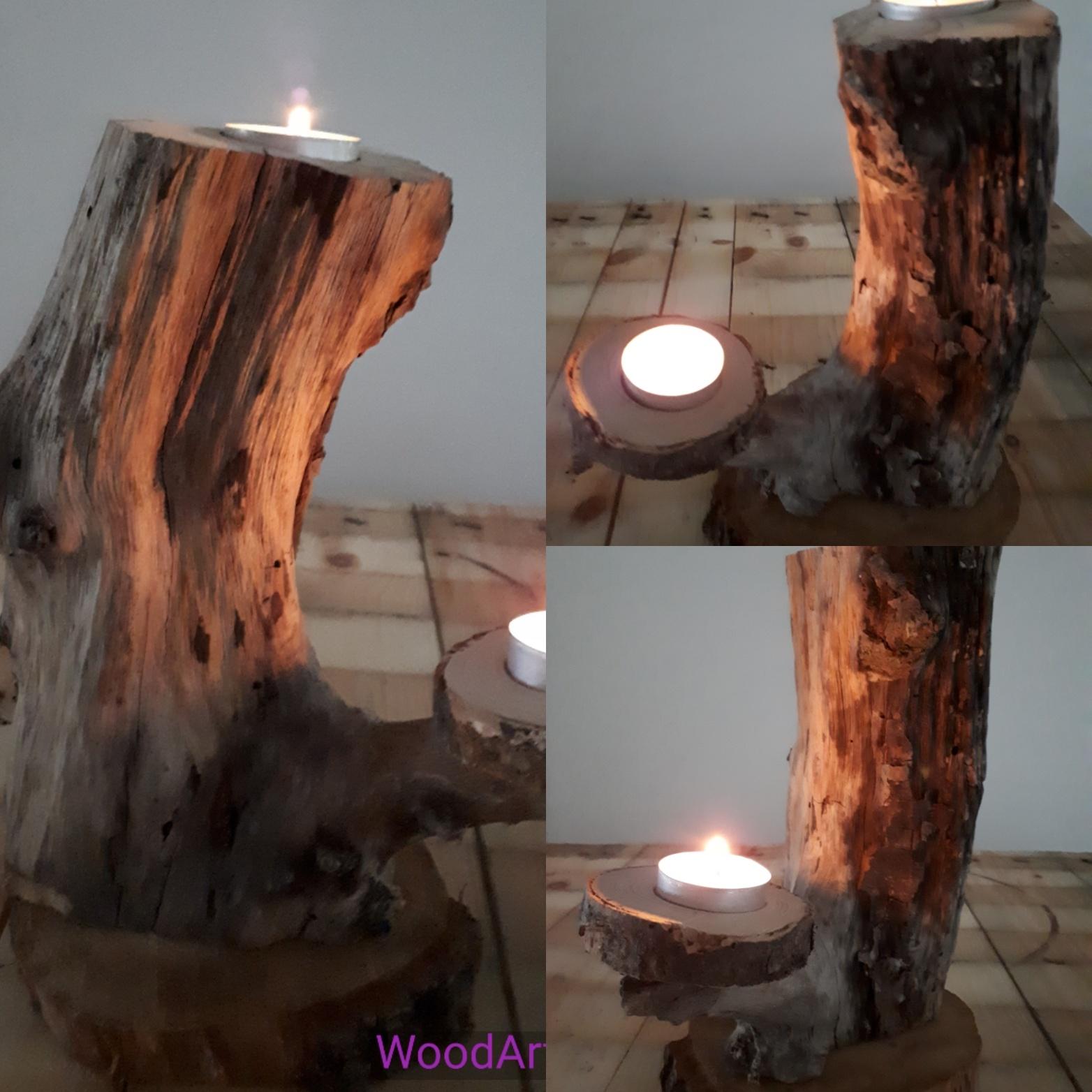 Teelichthalter und Kerzenständer